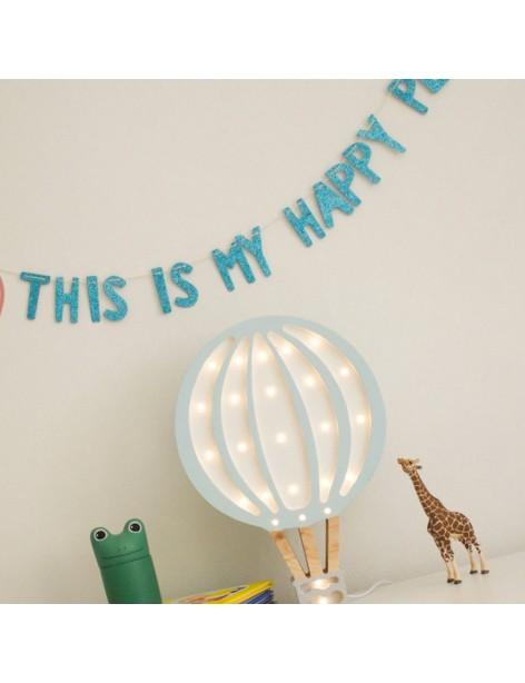 Hot Air Balloon Lamp