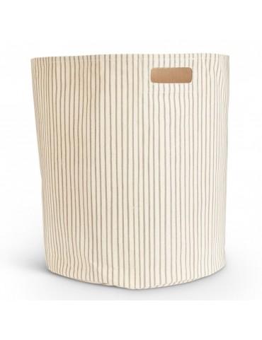 Striped Gift Basket