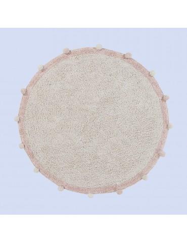 4'Bubble Natural Washable Carpet-Vintage Nude