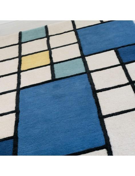Medieval Grid Children'S Carpet