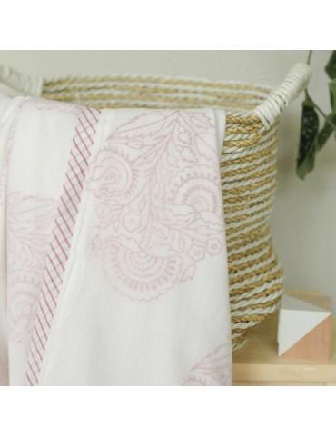 Receiving Blanket-Pink City