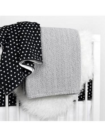 Triangle Crib Blanket